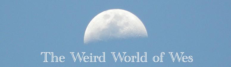 Weird World of Wes Moon logo. Copyright © Wes Pinter