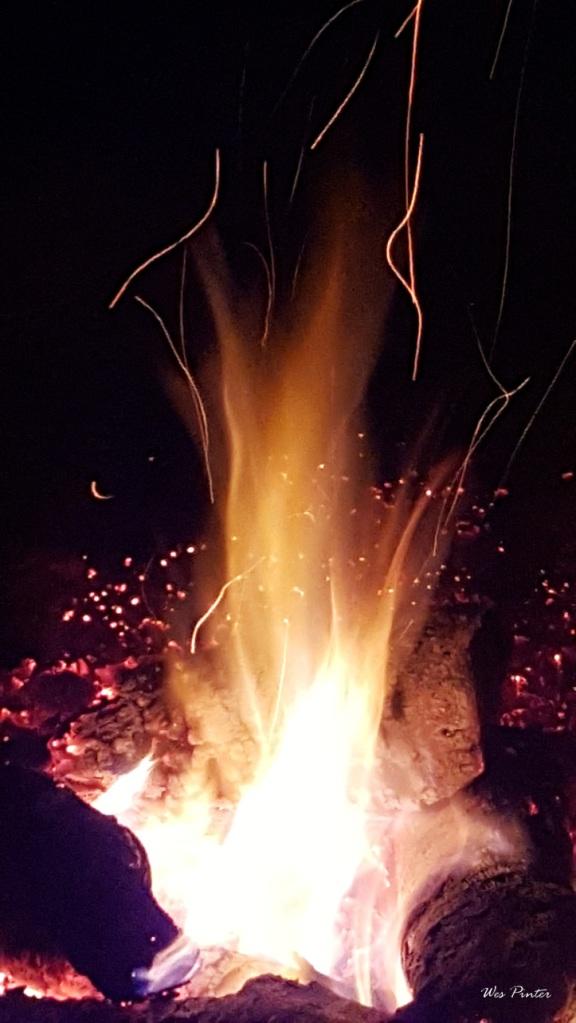 Campfire taken at Deep Creek Lake, MD.