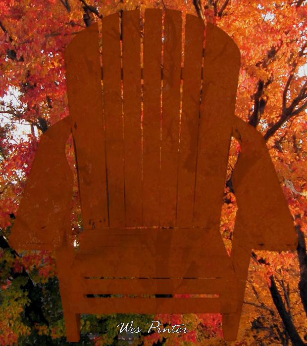 An Adirondack Chair